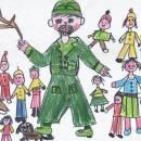 Kresba od dětí (MŠ Kytlická)